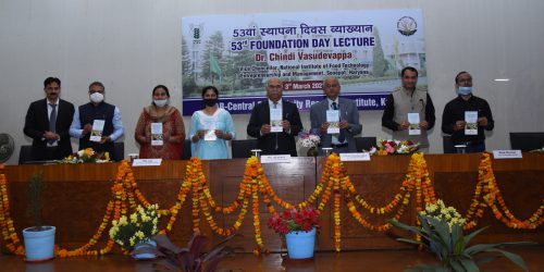 53rd Foundation Day of ICAR-CSSRI celebrated on 3rd March 2021