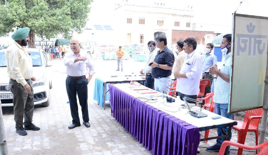 ICAR-CSSRI organized Rabi Kisan Mela at village Habri, Kaithal on 5th October,2021