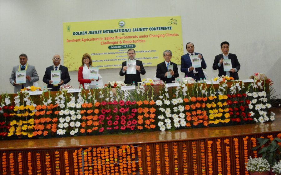 Golden Jubilee International Salinity Conference inaugurated at ICAR-CSSRI-Karnal