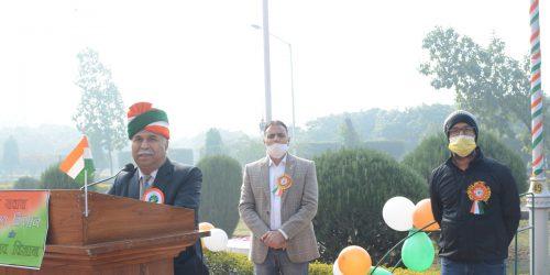 72nd Republic Day Celebrated at ICAR-CSSRI Karnal