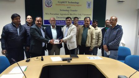 GypKIT Commercialized and Transfer developed at ICAR-CSSRI RRS Lucknow