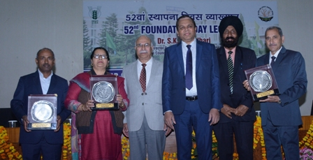 52nd Foundation Day Celebrated