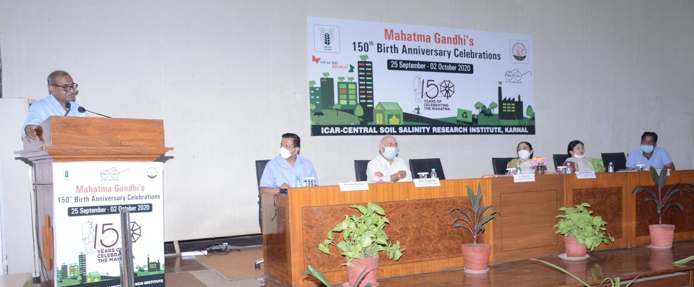 Celebration of 150th Birthday of Mahatma Gandhi