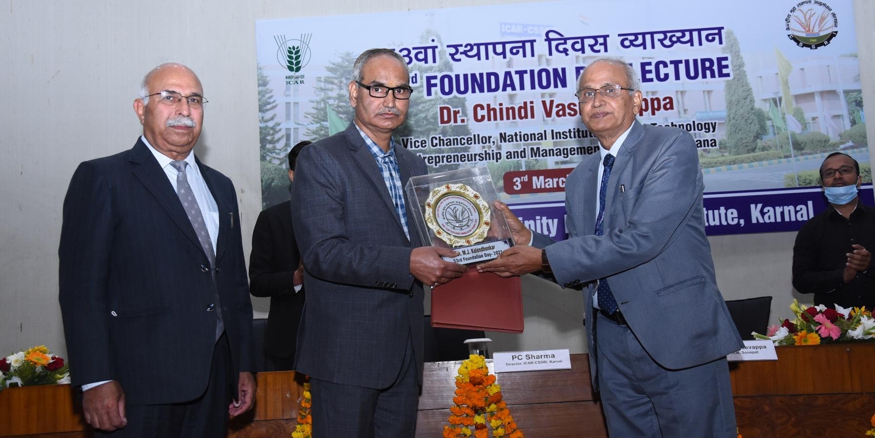 53rd Foundation Day of ICAR-CSSRI, Karnal
